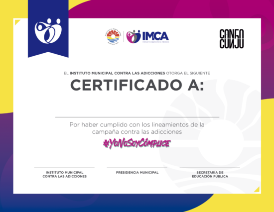 Certificado Ynsc Imca